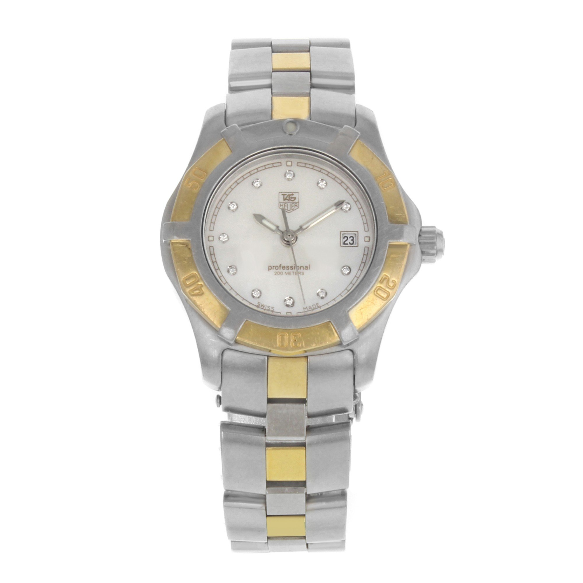 Tag Heuer 2000 Exclusive quartz womens Watch wn1355.bd0342 (Certified Pre-owned)