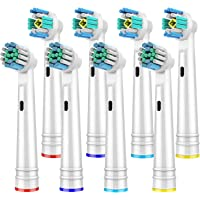 8 Pcs Replacement Brush Heads for Oral B,Replacement Toothbrush Heads Compatible with Oral B Pro 1000/3000/5000/7000…