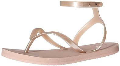 Reef Girls' Little Stargazer Wrap Sandal, Dusty Pink, 3-4 M US