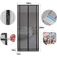 sekey magnético cortina para protección contra insectos, magnético