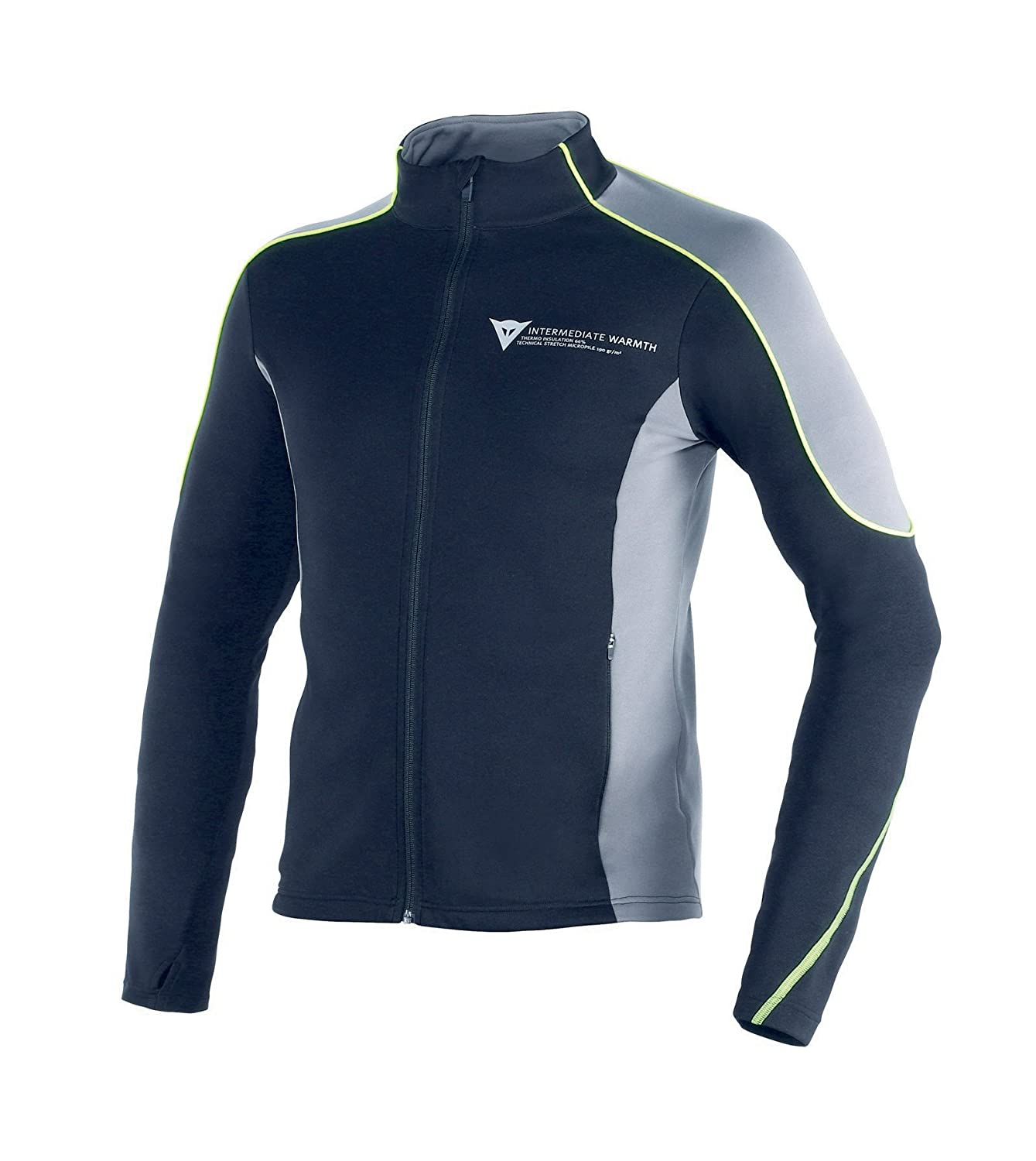 Dainese-D-MANTLE FLEECE, Noir/Noir/Anthracite, Taille L 1915924_685_L