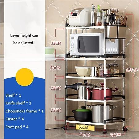 CRS-ZBBZ Estantería de decoración de Muebles Cocina Estantes ...