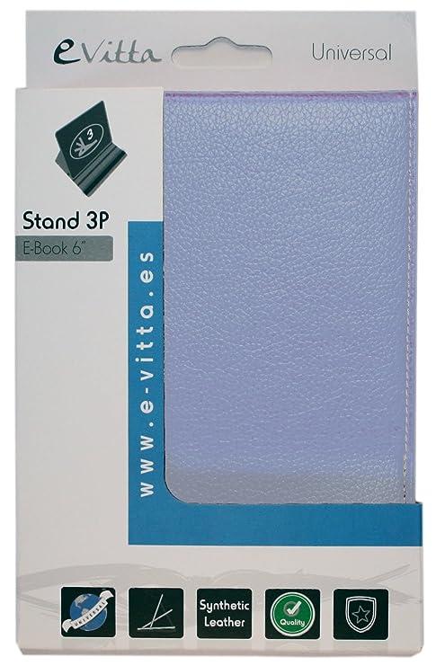 e-Vitta eBook Stand folio Azul funda para libro electrónico ...