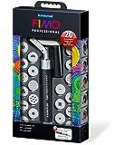 Staedtler extrudeur pour pâte à modeler non durcie FIMO professional, construction robuste, simple à utiliser, avec 20 embouts de motifs, 8700 07