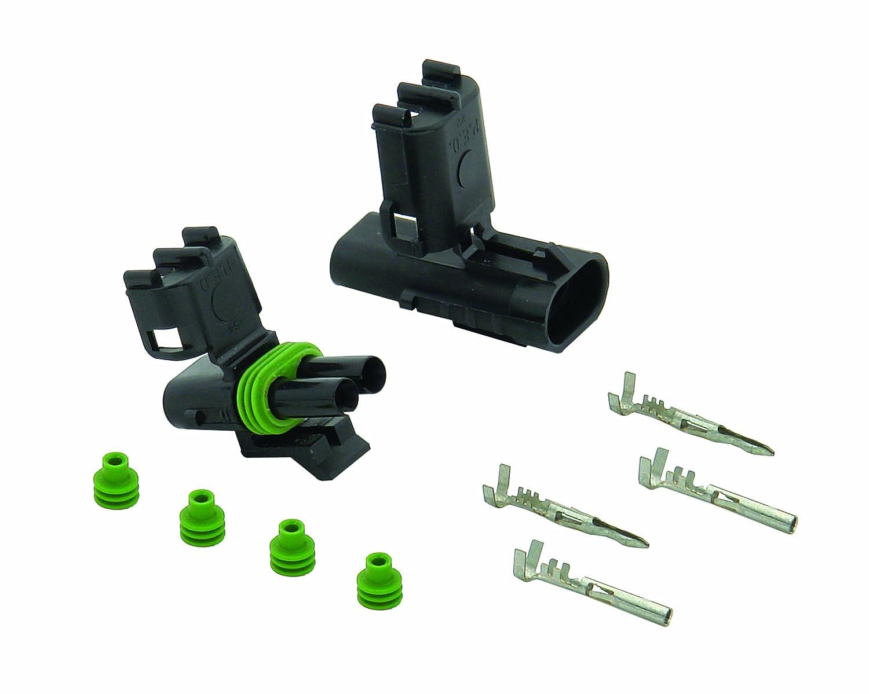 amazon com accel dfi 74812 weatherproof electrical 2 pin amazon com accel dfi 74812 weatherproof electrical 2 pin connector automotive