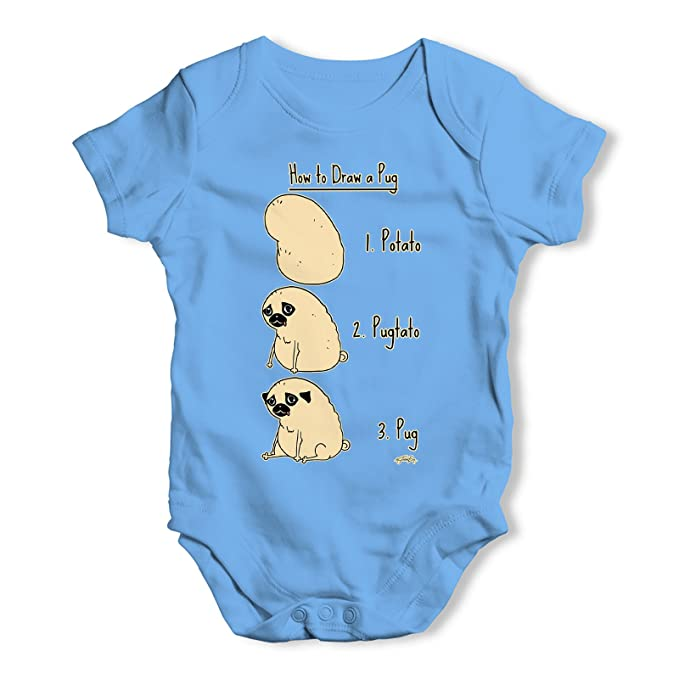 Twisted Envy Fresh Baby Unisex Funny Baby Grow Bodysuit