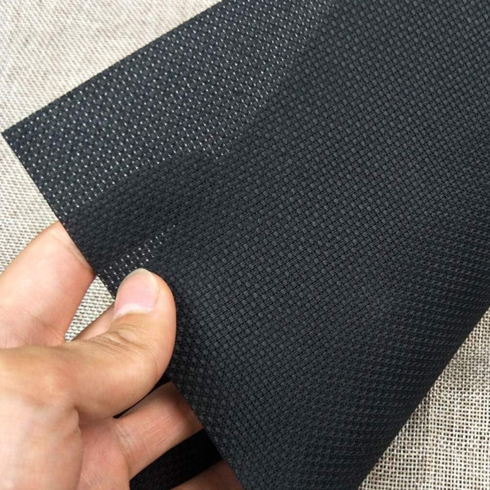 Milisten 4pcs Cross Stitch Aida Cloth Black Cross Stitch Fabric 11 Count Classic Reserve Aida Cloth for DIY Sewing Cross Stitch Supplies Black/ï/¼/‰