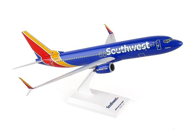 a4a3c48f0f39 Amazon.com  Daron Skymarks Southwest 737-800 1 130 New Livery Heart ...