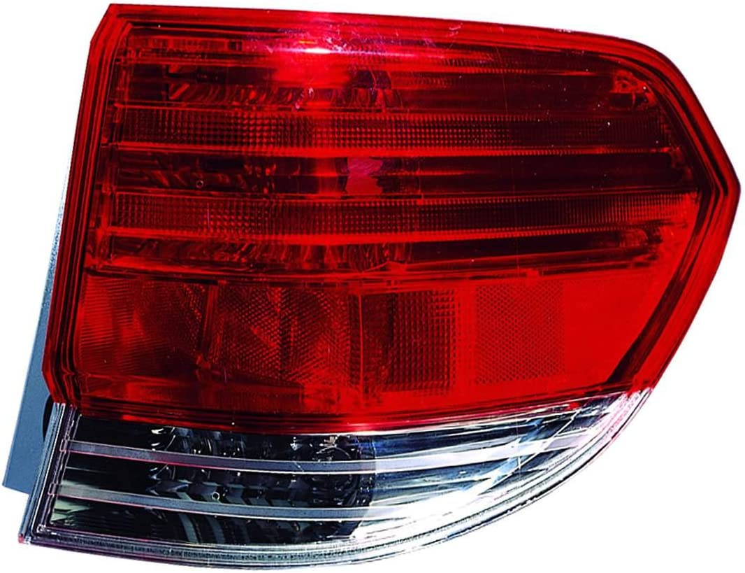 DEPO 317-1987L-US Replacement Driver Side Tail Light Housing This product is an aftermarket product. It is not created or sold by the OE car company
