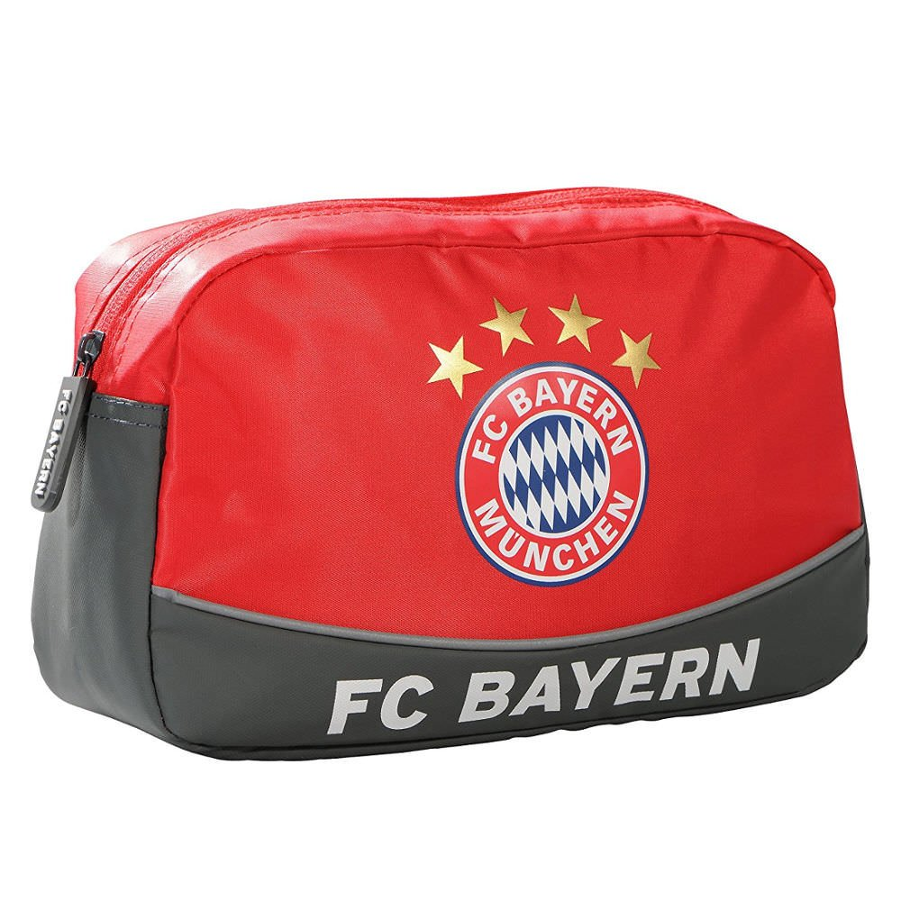 FC BAYERN MÜNCHEN Kulturbeutel FC Bayern rot FC Bayern München