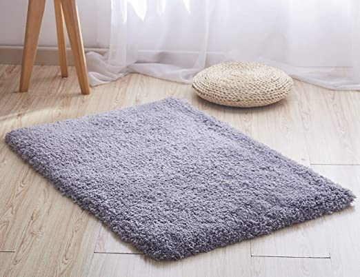 12 sizes Fluffy soft long pile anti slip mat dining bedroom