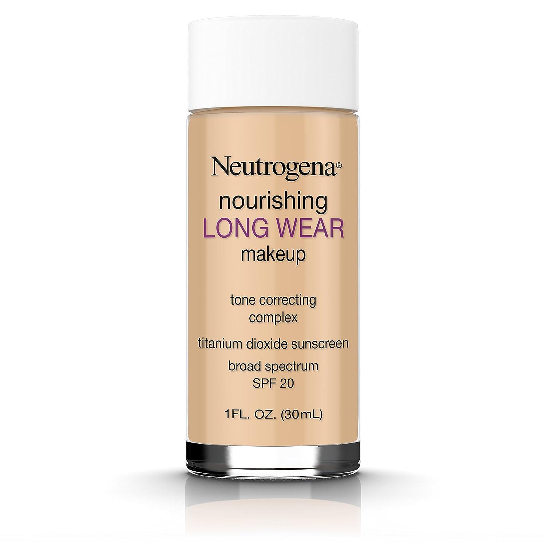 Neutrogena Nourishing Long Wear Liquid Makeup Foundation With Sunscreen, 85 Honey, 1 Fl. Oz.
