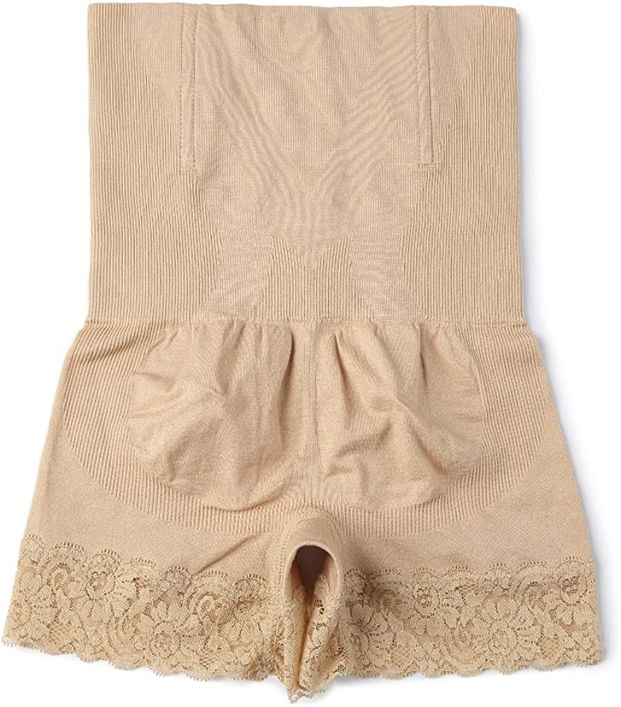 AOBRITON Seamless Sheath Women Body Shaper Control Panties Slimming Shapewear Brief High Waist Control Shorts