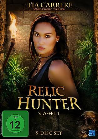 Relic Hunter Staffel 1 5 Dvds Amazon De Tia Carrere Christien