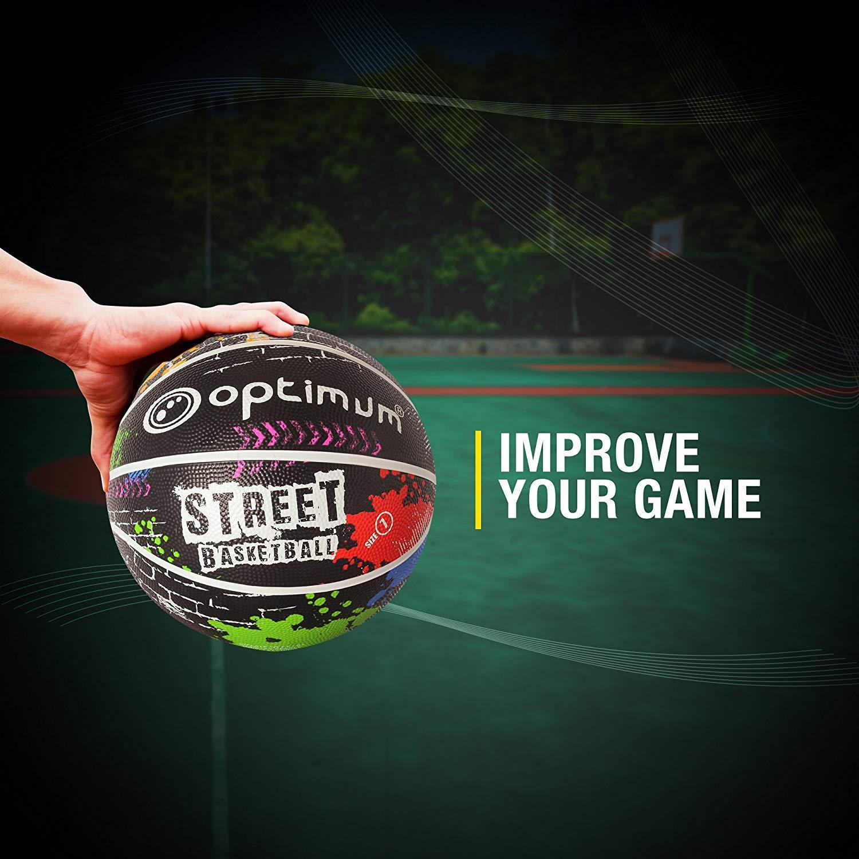 OPTIMUM Street - Balón de Baloncesto: Amazon.es: Deportes y aire libre
