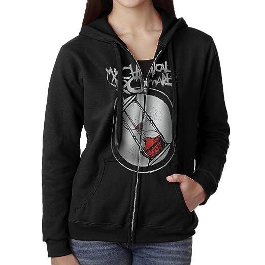 Amazoncom Women My Chemical Romance Hoodie Sweatshirt Black Clothing