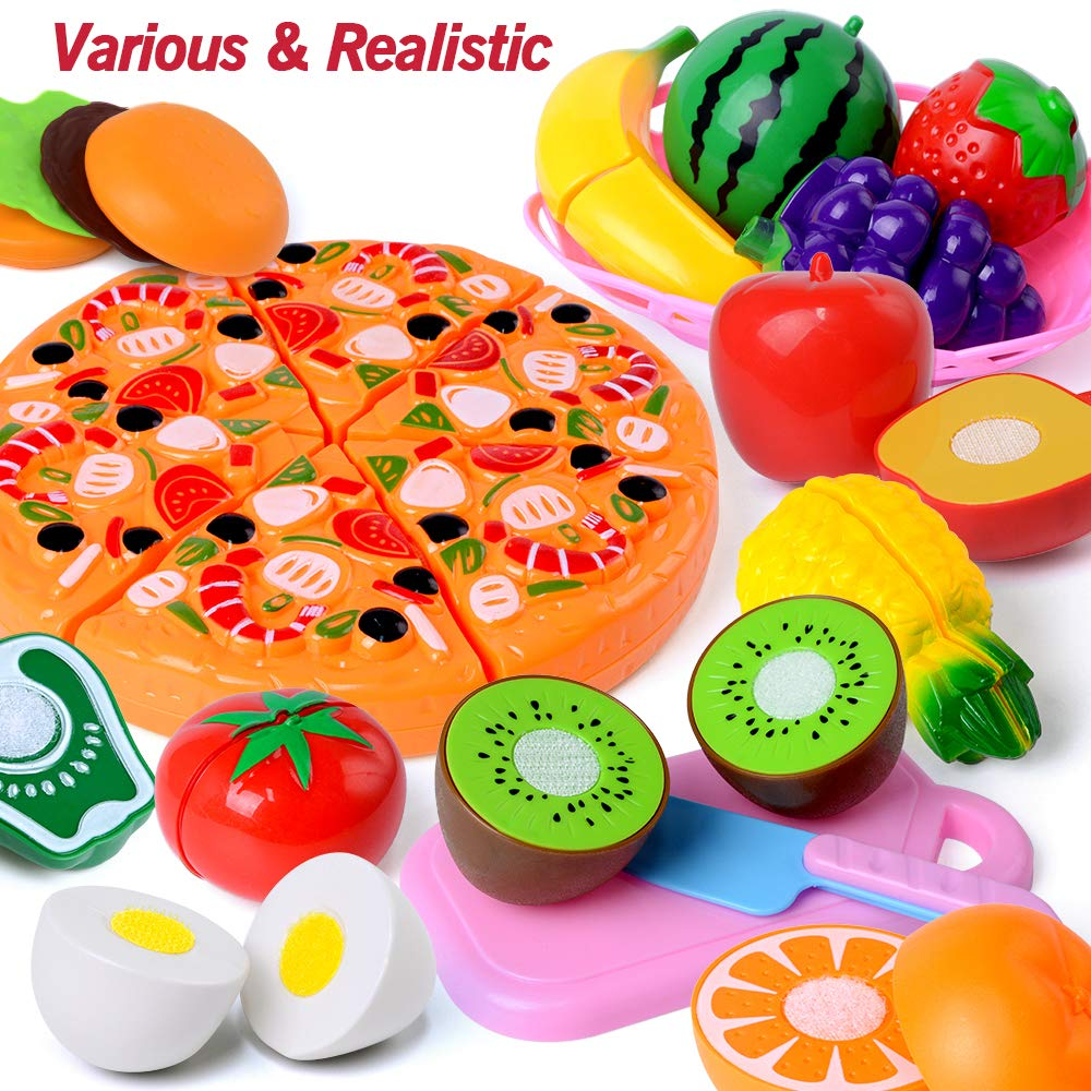 Amazon.com: Juguetes de corte, 45 piezas de juguete, para ...