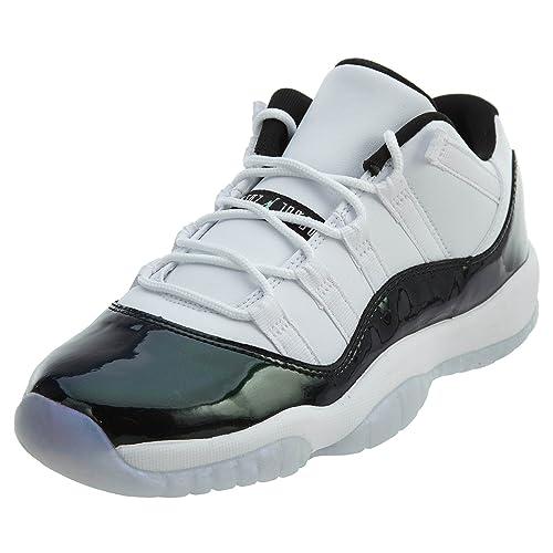 7ded37a9f9bdb0 Nike AIR Jordan 11 Retro Low BG  Emerald  - 528896-145 - Size - 4Y ...