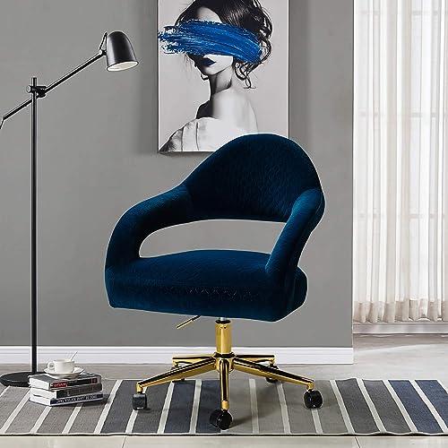 Swivel Task Chair Velvet