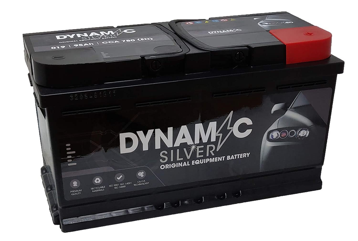 Dynamic 019DS Car Battery