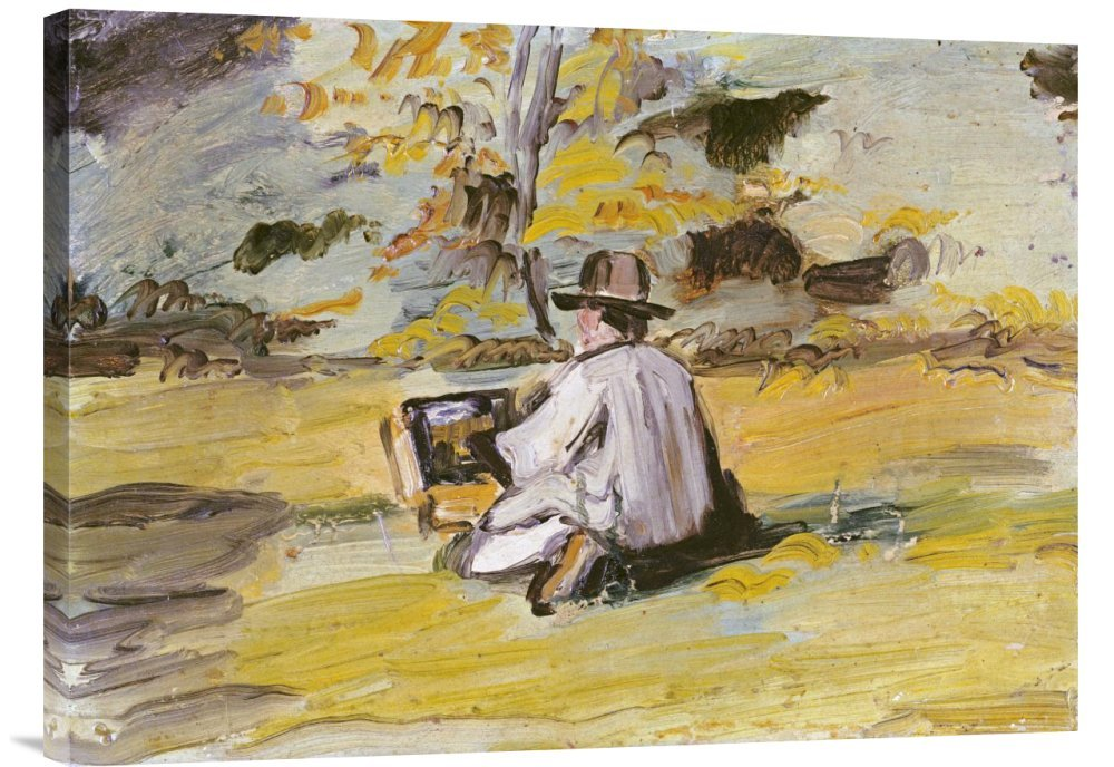 Global Galerie Budget gcs-264698–76,2–360,7 gcs-264698–76,2–360,7 gcs-264698–76,2–360,7 cm Paul Cezanne ein Maler AT WORK Galerie Wrap Giclée-Kunstdruck auf Leinwand Art Wand B01K1ONP88 | Sale Outlet  10a106