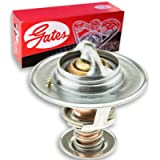 Gates Coolant Thermostat for 1997-2010 Ford F-150 4.2L V6 5.4L 4.6L V8 - Antifreeze Coolant Engine Radiator Pump