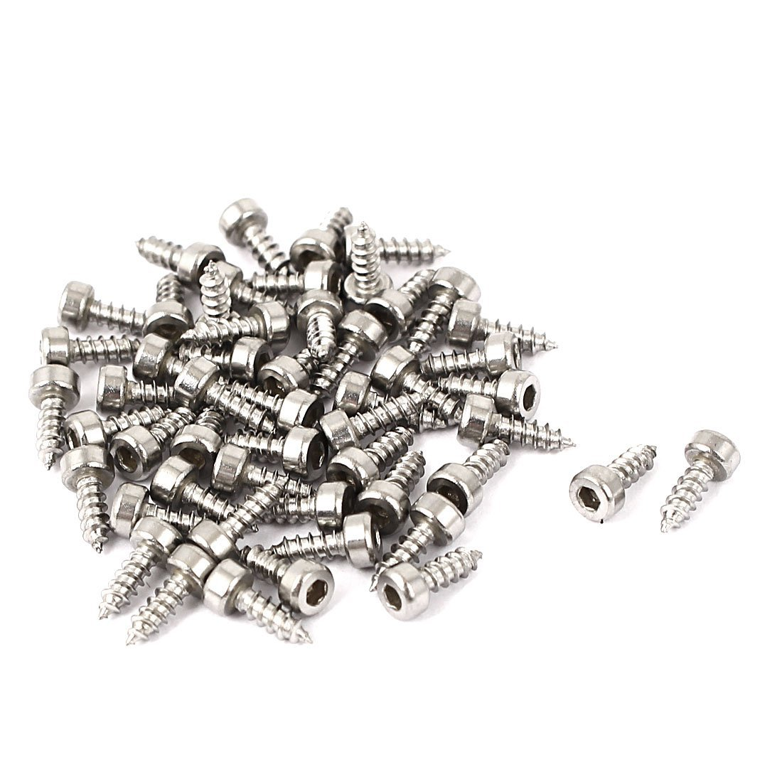 a16032300ux0234 Hexagon Head Screw M2x6mm Self Tapping Screws 50 Pieces Pack of 50