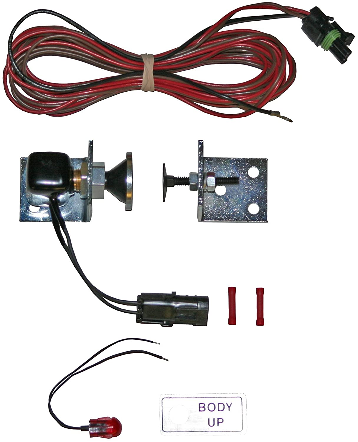 71A04heYOIL._SL1500_ amazon com buyers products sk12 body up indicator kit with buzzer indicator buzzer wiring diagram at bayanpartner.co