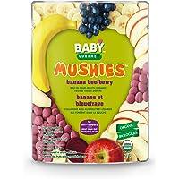 Baby Gourmet Mushies Banana Beet berry, Green, 23-Gram, 8-Pack