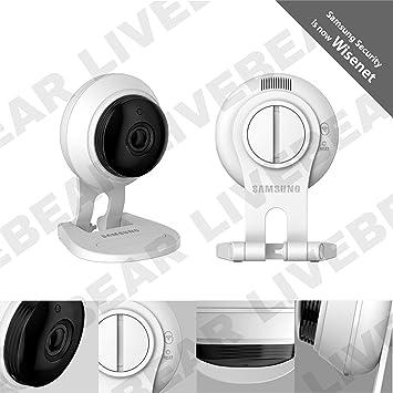 White Samsung SmartCam HD Plus SNH-C6417BN 1080p Wifi Camera Bonus 16GB MicroSD
