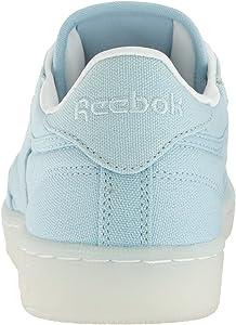 885976a1e380 Women s Club C 85 Canvas Running Shoe. Reebok Women s Club C 85 Canvas  Running Shoe Zee Blue White ...