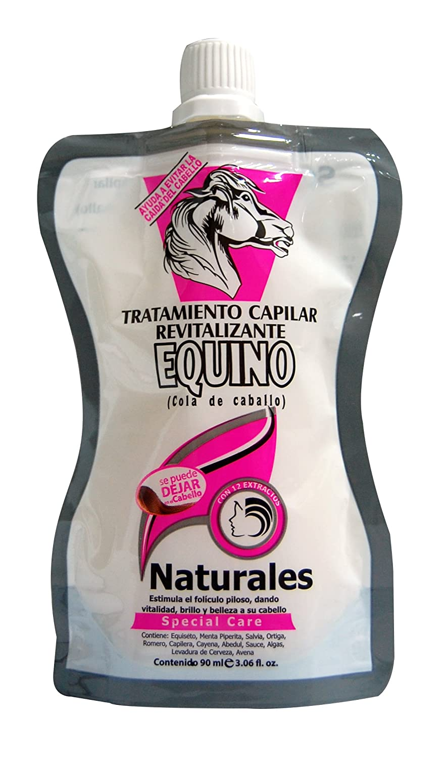 Amazon.com : LISSIA-Equino Sobres/ sachet Tratamiento 90ml/3.06oz Horse Tail Ttm. : Beauty