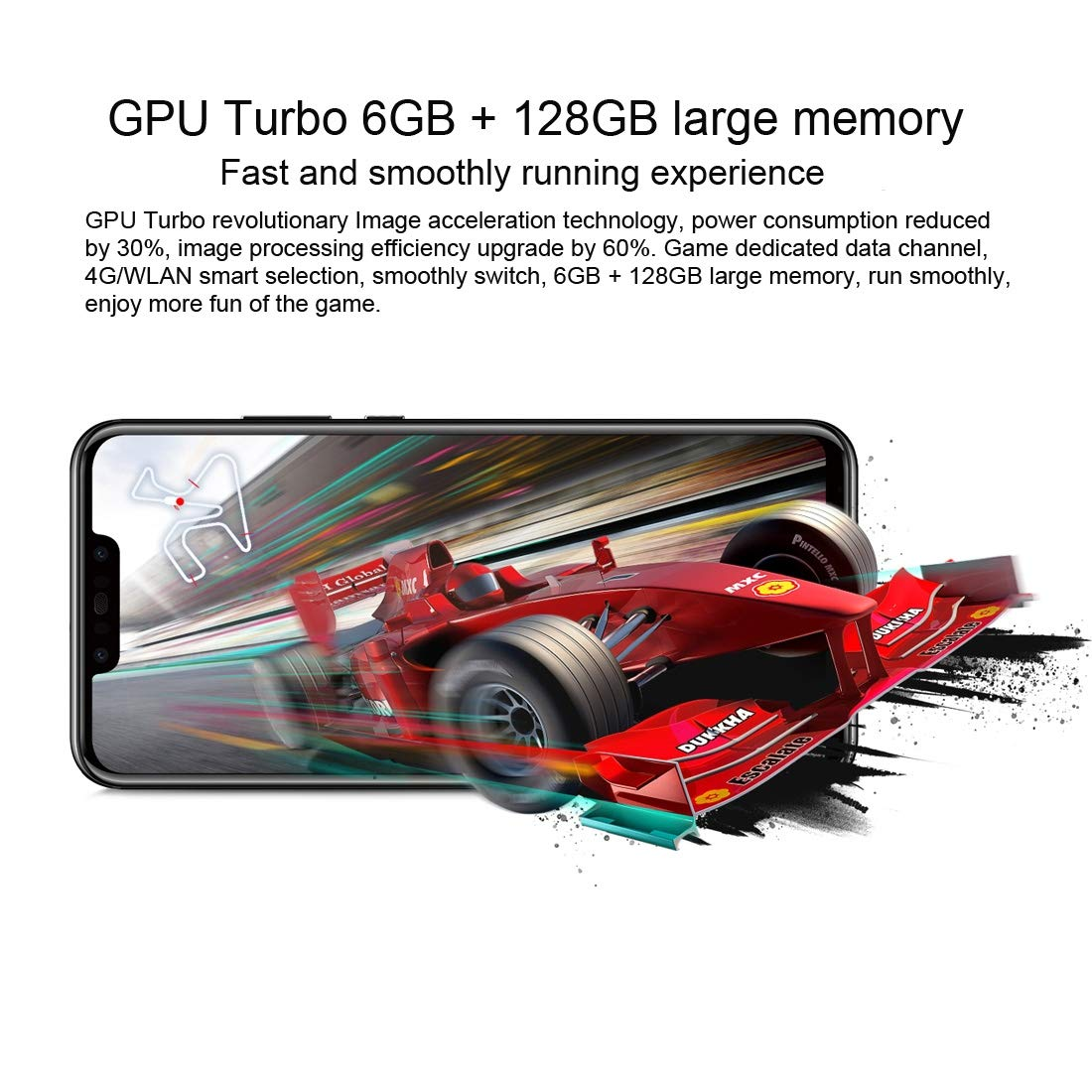 Amazon.com: Huawei nova 3 PAR-AL00 6GB+128GB 6.3 inch Dual Back Cameras + Dual Front Cameras Android 8.1 Kirin 970 Octa Core GSM & WCDMA & FDD-LTE (Jet ...