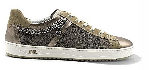 Sneaker Nero Giardini P805081 312 5081 scarpe donna sportive bronzo