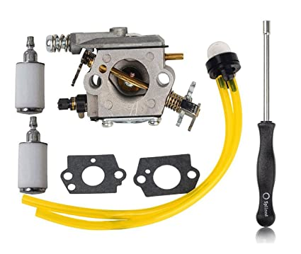 Amazon Com Hifrom Carburetor With Primer Bulb Fuel Line Filter For