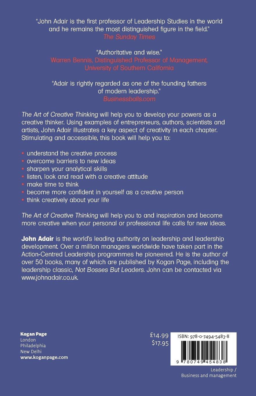 The Art Of Creative Thinking John Adair Pdf