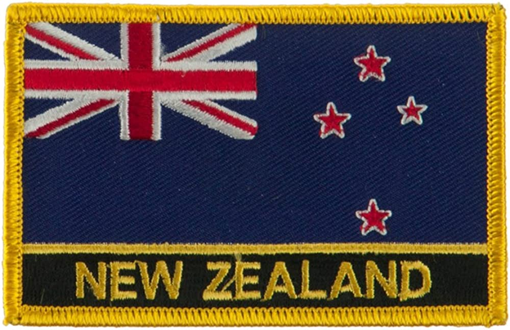 New Europe Flag Embroidered Patch New Zealand W01S12E