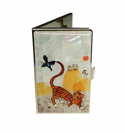 Amazon funny business card holder genuine mother of pearl funny business card holder genuine mother of pearl cat and bird design hard colourmoves