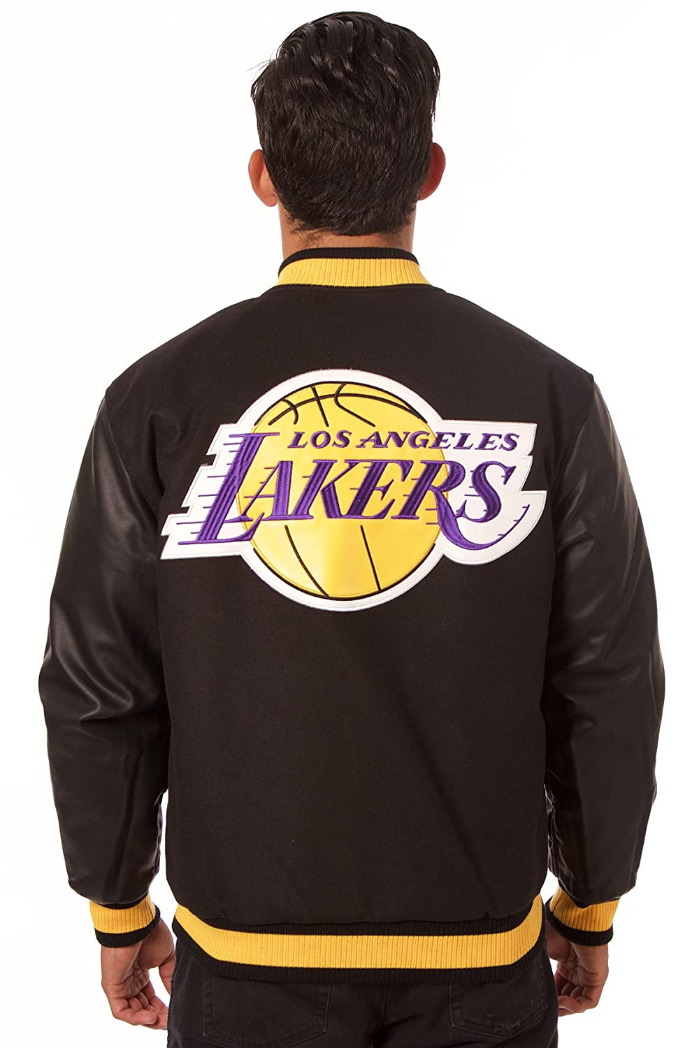 Los Angeles Lakers Reversible chaqueta de lana/nailon, Negro: Amazon.es: Deportes y aire libre