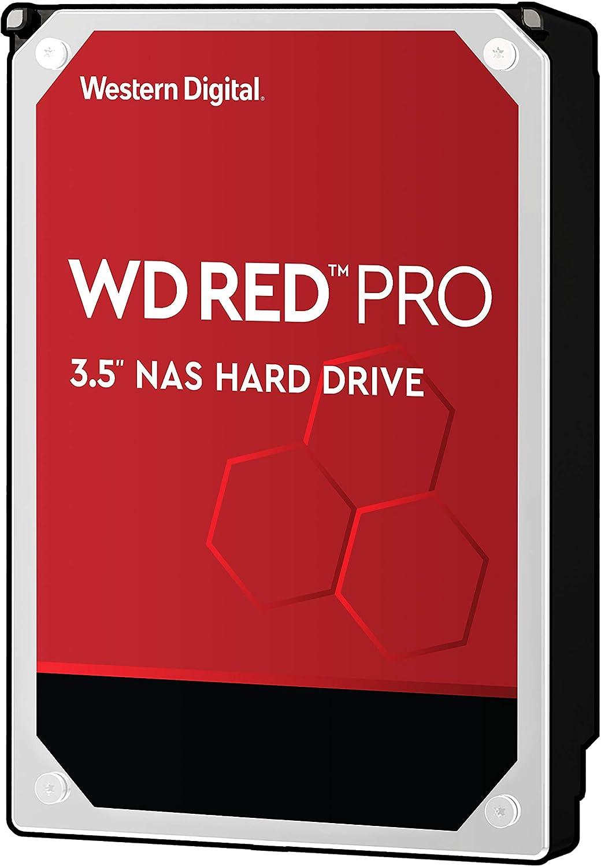 """Western Digital 10TB WD Red Pro NAS Internal Hard Drive - 7200 RPM Class, SATA 6 Gb/s, CMR, 256 MB Cache, 3.5"""" - WD101KFBX (Old Version)"""