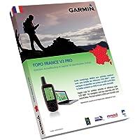 Garmin Topo Frankreich V3 Gesamt Freizeit  und Wanderkarte für GPS-Geräte, auf microsd und dvd, 010-11244-01