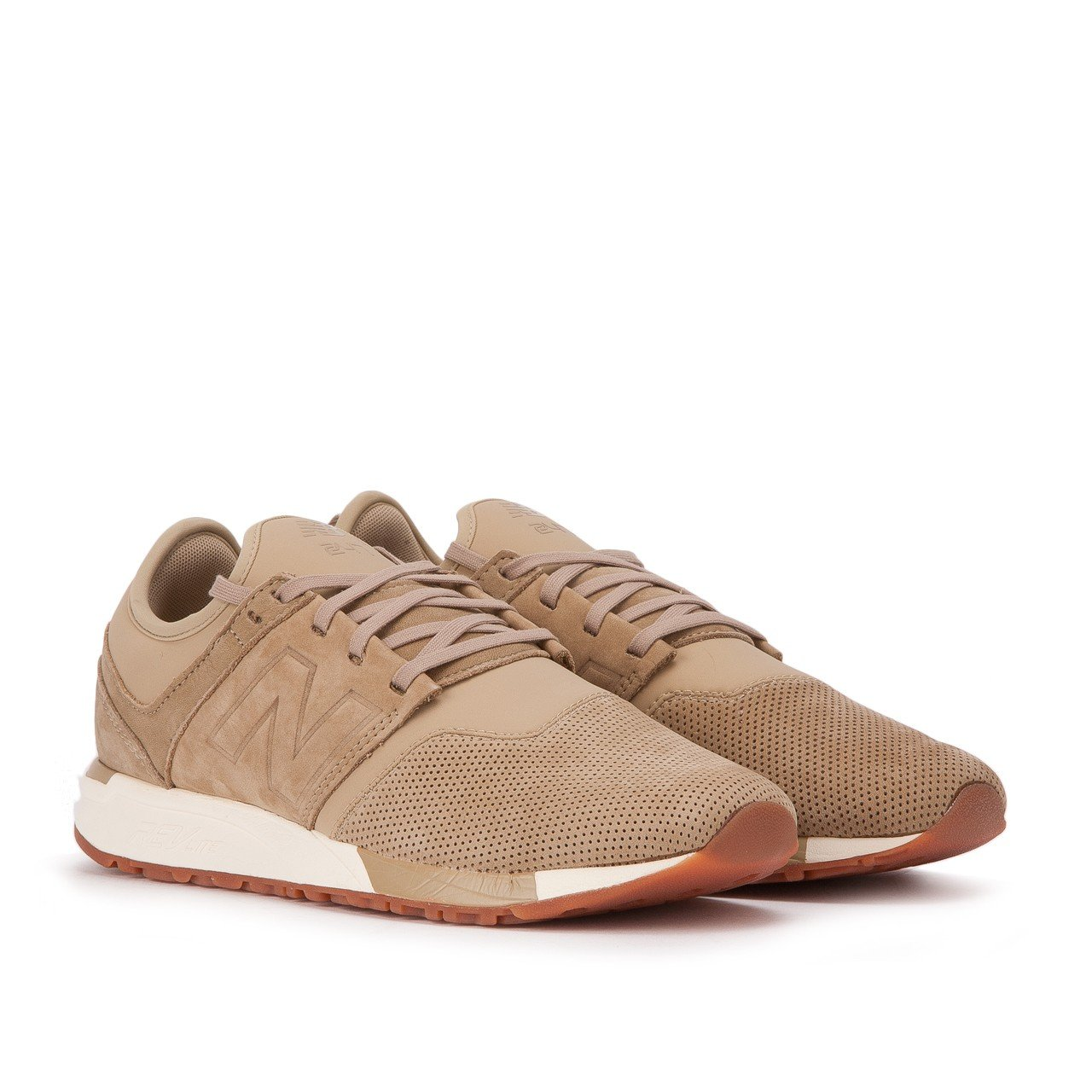 New Balance Herren 247 Classic Mesh Sneaker  46.5 EU|hemp/vert