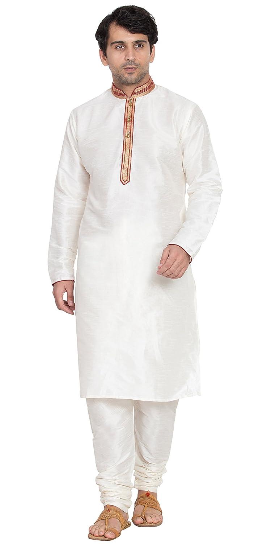 Kurta Pajama For Men Long Sleeve Pyjama Set Indian Yoga Summer Clothing