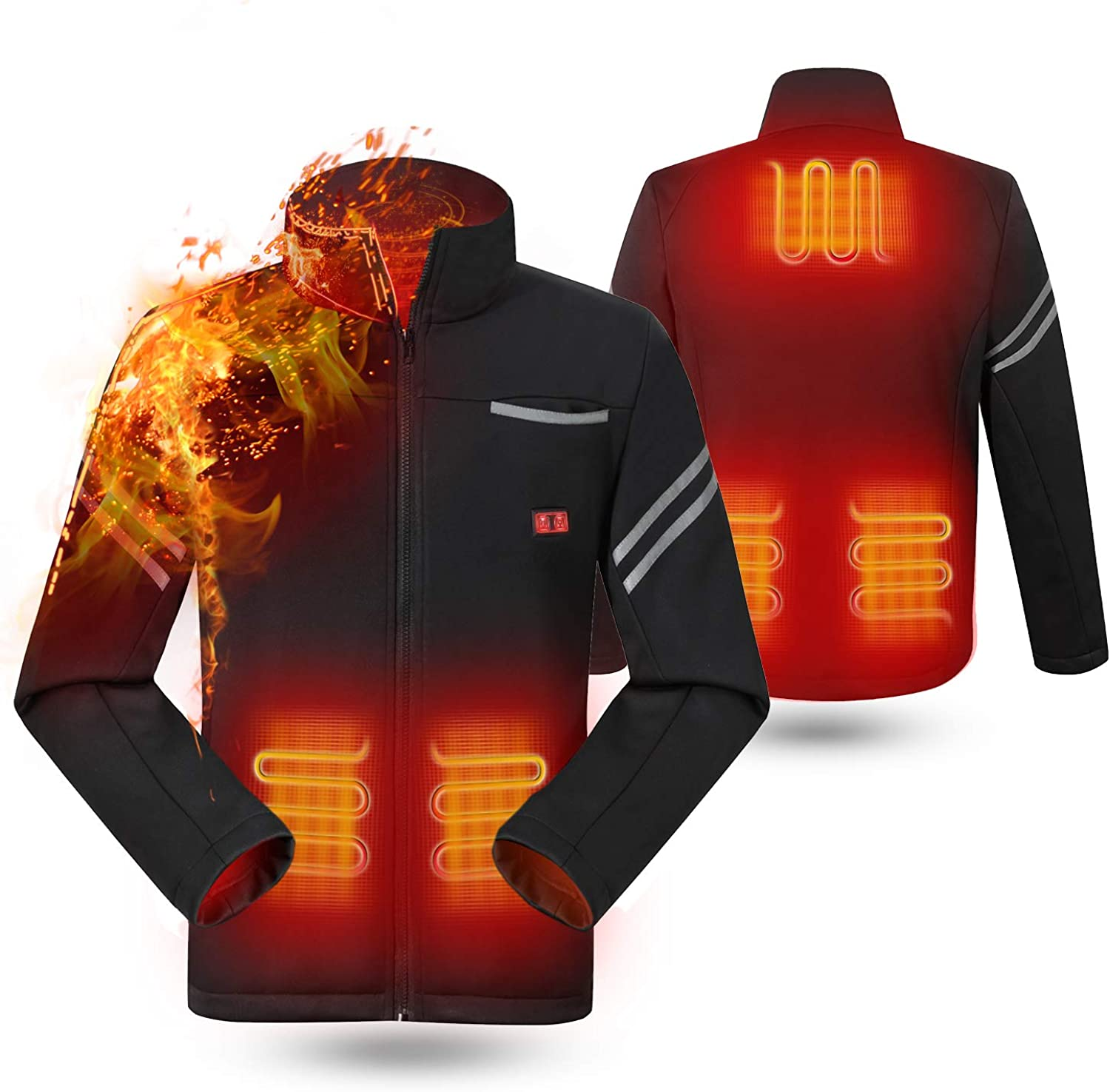 Warming Heated Vest for Men Winter Heated Clothing for Women (No Battery)