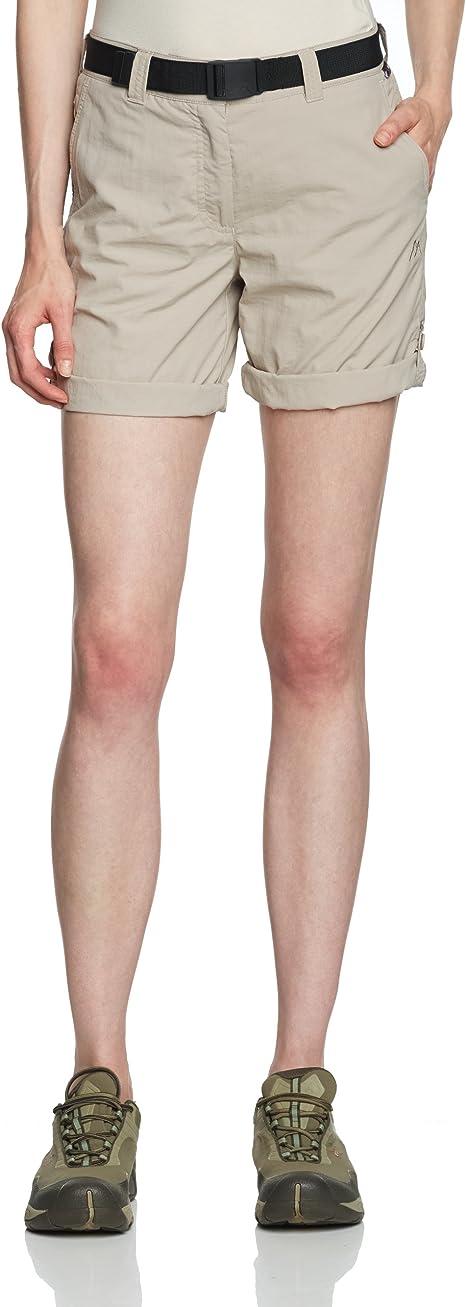 TALLA 38 UK. maier sports  - Pantalones de Acampada y Senderismo para Mujer