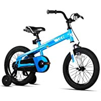 JOYSTAR Whizz Kids Bike with Training Wheels for Ages 2-9 Years Old Boys and Girls, 12 14 16 18 Toddler Bike with…