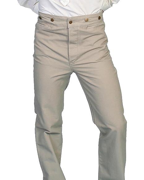 f78c00d9ed7 Scully Rangewear Men s Rangewear Canvas Pants Tall Sand 46 at Amazon ...
