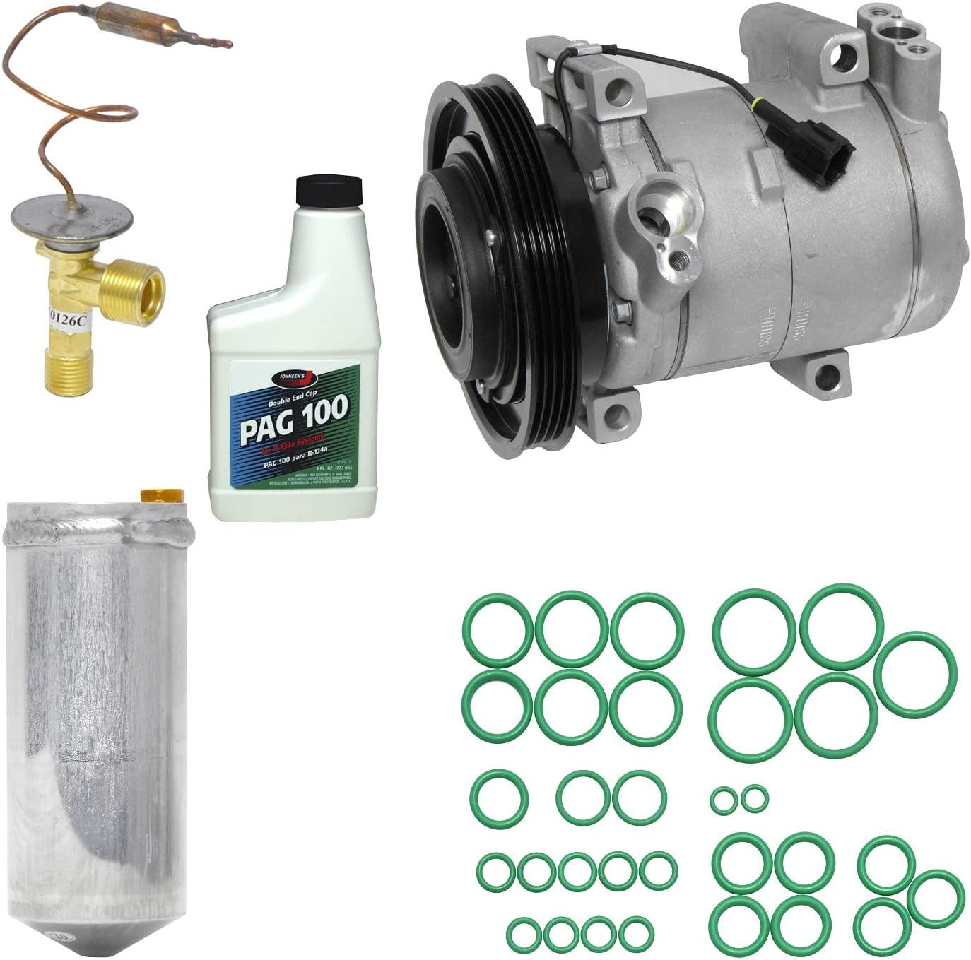 Universal Air Conditioner KT 4193 A//C Compressor and Component Kit