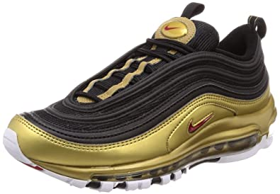 brand new 932a7 b2ab5 Nike Air Max 97 QS BlackVarsity Red (4 M US Big Kid)