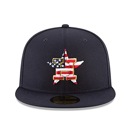 premium selection be32f 860d1 ... wholesale amazon new era houston astros 2018 july 4th stars and stripes  59fifty on field fitted